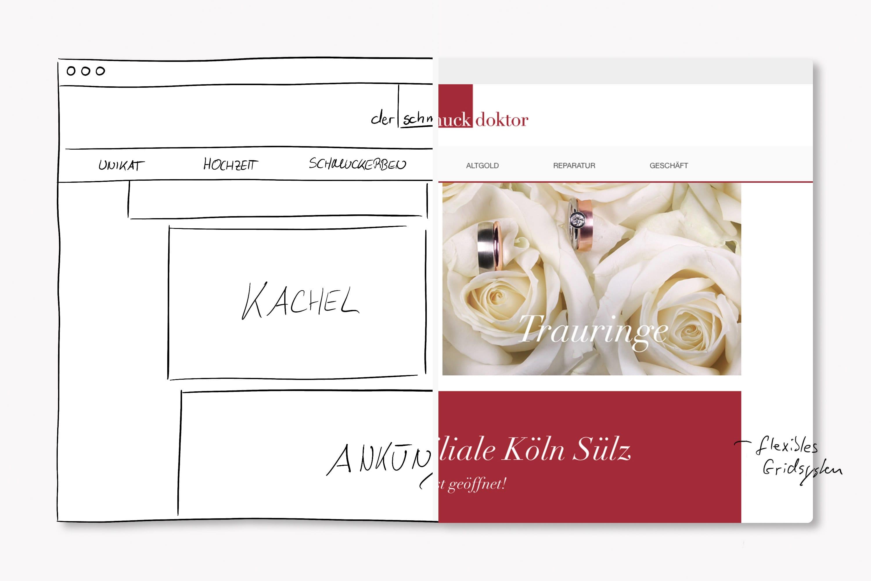 maxfath-der-schmuckdoktor-koeln-schmuck-website-webdesign-responsive-entwicklung-skizze
